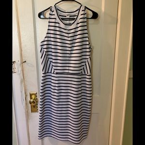 Black and white striped dress from Old Navy